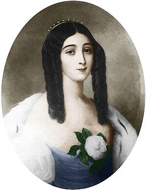La Dame aux Camélias - Marie Duplessis