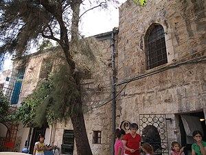 Max Sandreczky - Marienstift Children's Hospital, Street of the Prophets, Jerusalem