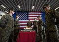 Marines, sailors celebrate 235th USMC birthday aboard USS Iwo Jima DVIDS339201.jpg