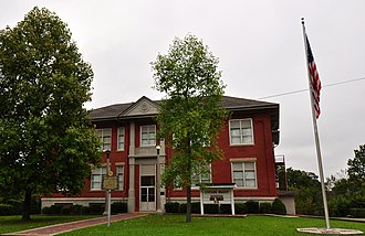 National Register of Historic Places listings in Butler County, Missouri - Image: Mark Twain School