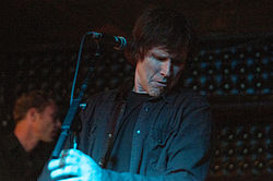 Lanegan performing in September 2009