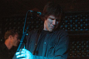 Mark Lanegan - Lanegan performing live in 2009.