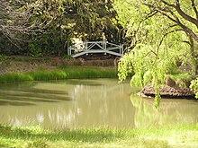 The lake at Markdale