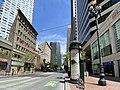 Market Street at Montgomery Street, San Francisco, April 27, 2020.jpg