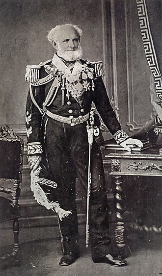 Brazilian Navy - Patron of the Brazilian Navy Joaquim Marques Lisboa, Marquis of Tamandaré, in 1873.