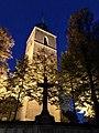 Martinuskirche in Greven, Westfalen, bei Nacht.jpg