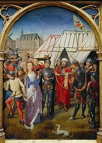 Martyrdom of Saint Ursula, by Hans Memling.jpg