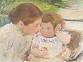 Mary Cassatt - Susan Comforting the Baby No. 1 (c. 1881) 02.jpg