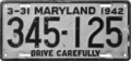 Maryland license plate, 1941–1944.png