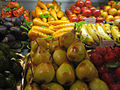 Marzipan fruits and vegetables at Harrods (closeup).jpg