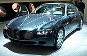 A Maserati Quattroporte