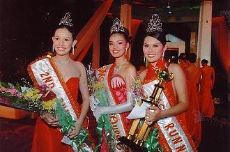 MassKara Festival - Winners of the MassKara Queen pageant in 2005