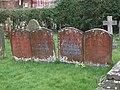 Matching gravestones - geograph.org.uk - 752096.jpg