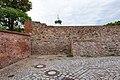 Mauergasse, Mauer des Schlossbezirks, von Süden Delitzsch 20180813 002.jpg