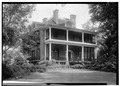 May 11, 1958 SOUTH (FRONT) ELEVATION. - Wessington House, 120 West King Street, Edenton, Chowan County, NC HABS NC,21-EDET,16-1.tif