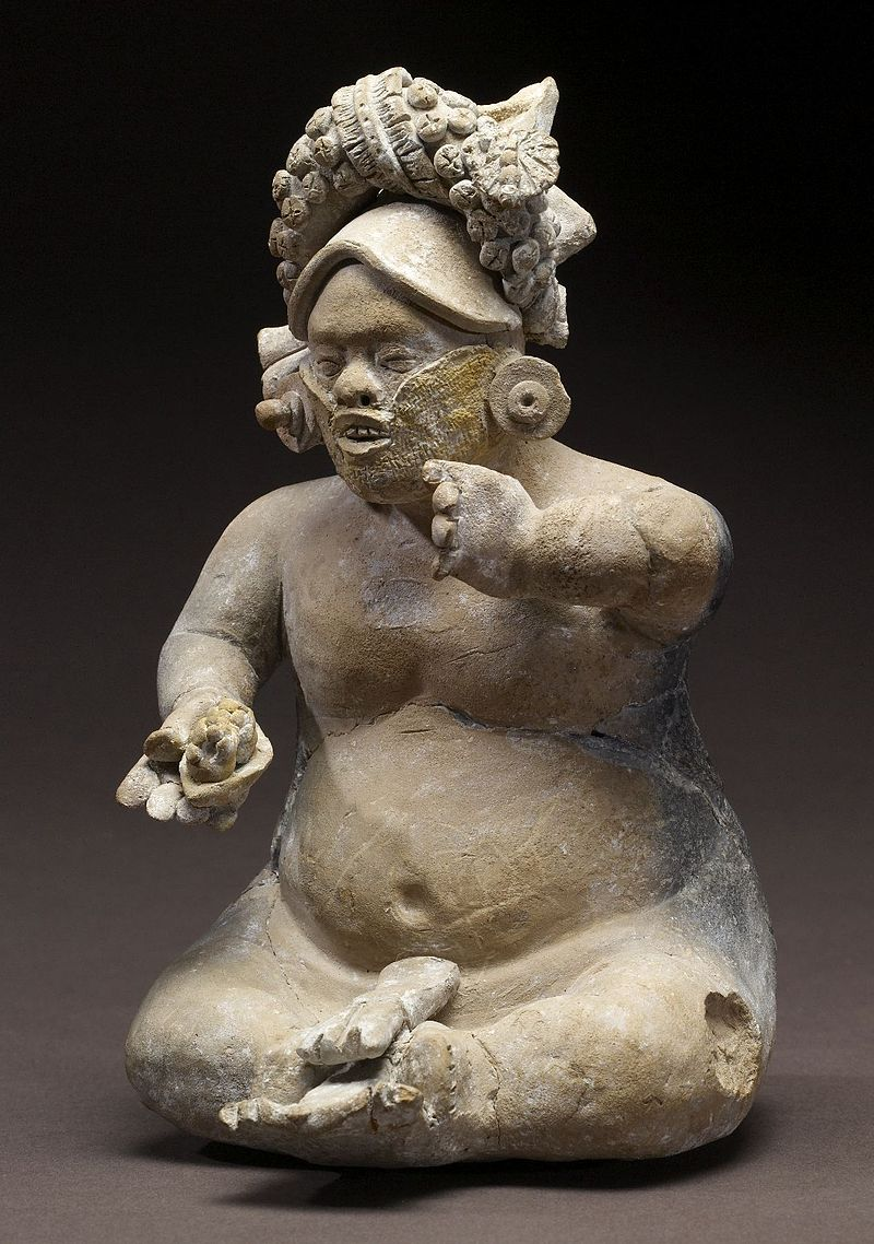 Mayan - Dwarf Figurine - Walters 20092036 - View A.jpg
