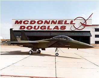 McDonnell Douglas F-15E Strike Eagle - The second TF-15A, AF Ser. No. 71-0291, used as an F-15E demonstrator