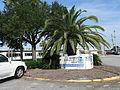 McKinnon St. Simons Island Airport sign.JPG