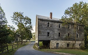 McKinstry's Mills Historic District - McKinstry's Mill and house