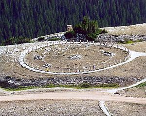 3rd millennium BC - The Medicine Wheel in Bighorn National Forest, Wyoming, United States