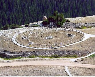 Bighorn National Forest - The Medicine Wheel National Historic Landmark in the National Forest