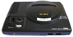 Sega Mega Drive, European/Australasian (PAL) version.