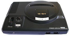 Sega Mega Drive (PAL version - 1990