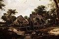 Meindert hobbema, il mulino ad acqua (paesaggio trevor), olanda 1667, 02.jpg
