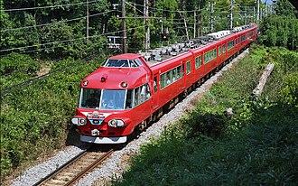 "Meitetsu - Meitetsu 7000 series ""Panorama Car"" train"