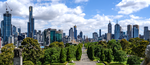 Melbourne as viewed from the Shrine, January 2019.png