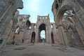 Melrose Abbey (HDR) (7986056673).jpg
