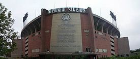 Memorial Stadium, home to the Baltimore Colts until 1983.