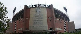 Indianapolis Colts - Memorial Stadium, home to the Baltimore Colts until 1983.