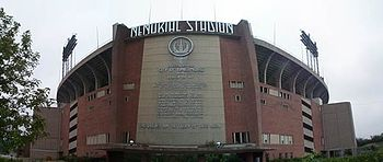 Memorial Stadium in Baltimore. Photo taken 200...