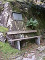 Memorial seat at the foot of Castle Crag, Borrowdale - geograph.org.uk - 273329.jpg