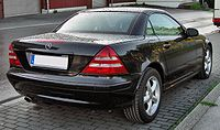 Mercedes SLK 320 Facelift 20090904 rear.JPG
