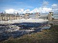 Merikoski Dam gates open 20080521.jpg