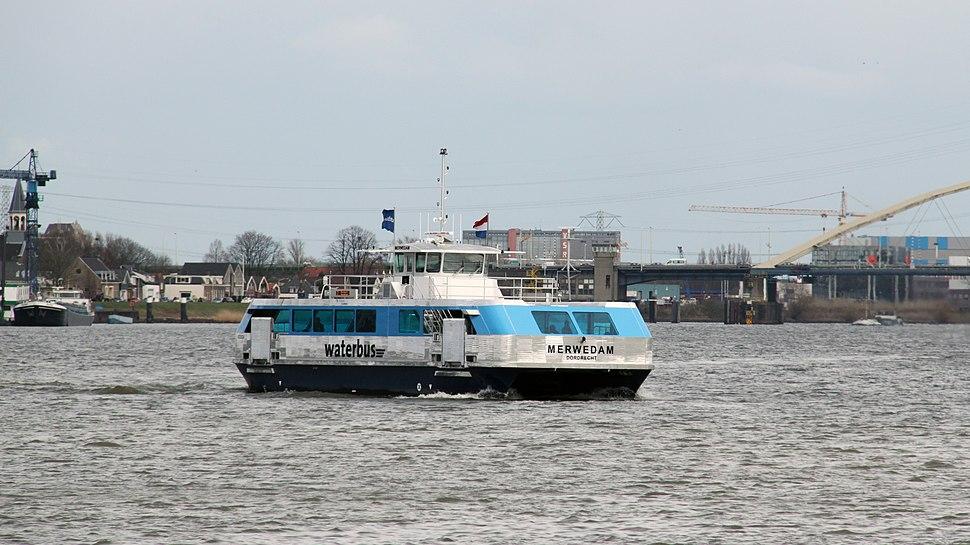 Merwedam Waterbus Dordrecht 2013