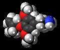 Methallylescaline molecule spacefill.png