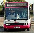 Metro (Belfast) bus 1831 (OCZ 8831) 2003 Optare Solo M850, 1 October 2009.jpg