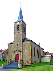 The church in Metzing