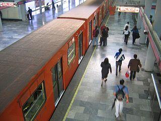 Mexico City Metro Line 1 Metro line in Mexico City