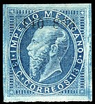 Mexico 1866 13c Sc32 unused.jpg