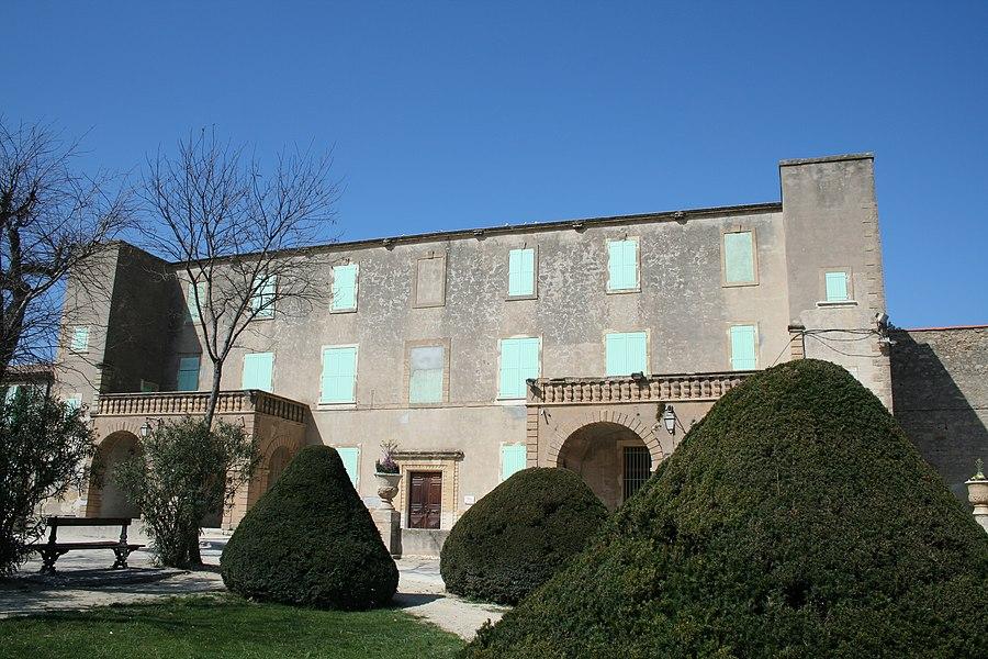 Mèze (Hérault) - château Girard (XVIIe siècle).