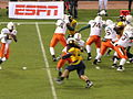Miami on offense at 2008 Emerald Bowl 02.JPG