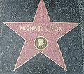 Michael J Fox Walk of fame.jpg