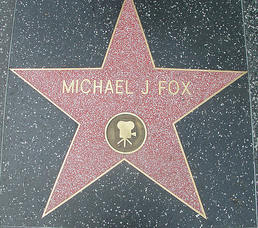 Michael J Fox Walk of fame
