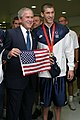 Michael Phelps with President Bush - 20080811.jpeg