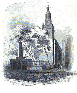 St Michael Bassishaw Church in London