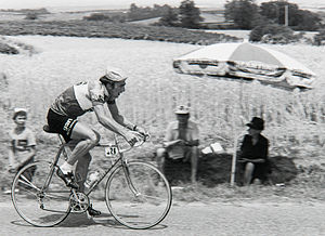 Michel Périn (cyclist) - Périn in the 1976 Tour de France